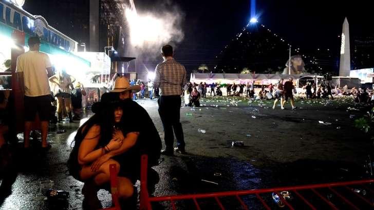 © Getty Images La gente acudió a un festival anual de música country sin sospechar lo que pasaría después.