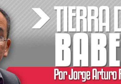 """TIERRA DE BABEL """"Más clarito que el agua"""" : Jorge Arturo Rodríguez"""