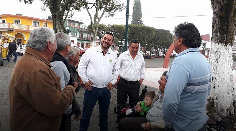 Juntos pintaremos de Verde nuestro Distrito: Alejandro Alfonseca Barradas