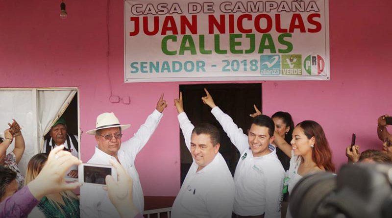 INAUGURA JUAN NICOLÁS CALLEJAS, DÉCIMA CASA DE ENLACE EN COSAMALOAPAN