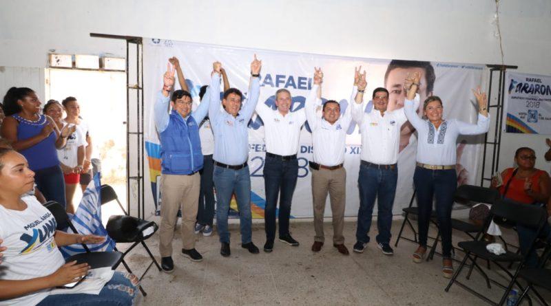 """""""Como diputado federal cumpliré cabalmente mis promesas de campaña"""": RFM"""