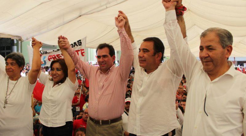 El PRI herencia de los principios de grandes movimientos sociales de México: Samuel Aguirre