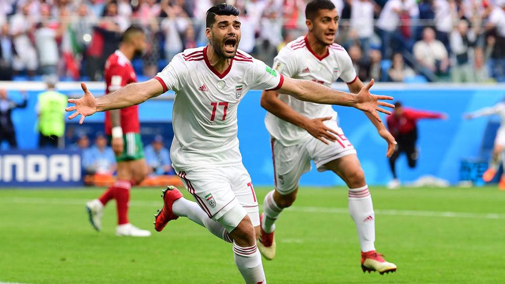 Irán consuma la primera sorpresa del Mundial con un gol en el 95′