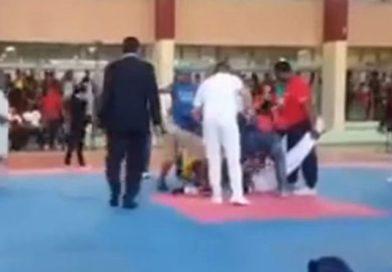 Video: Joven muere en pleno combate de Taekwondo
