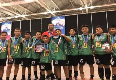 Delegación Antorchista destaca en el Nacional Infantil de Voleibol