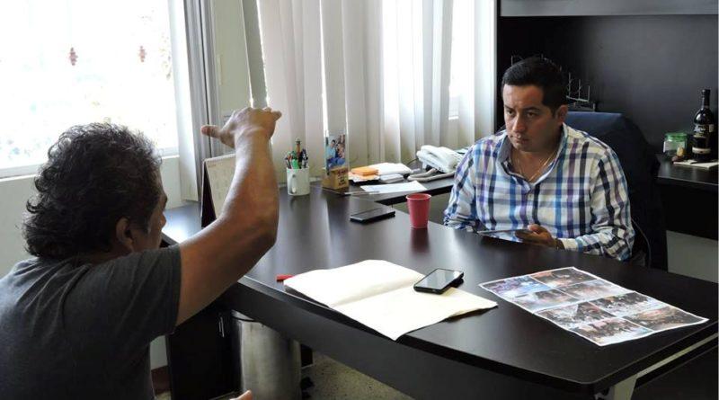 Con las puertas abiertas ante la ciudadanía, así trabaja alcalde de Tlalnelhuayocan