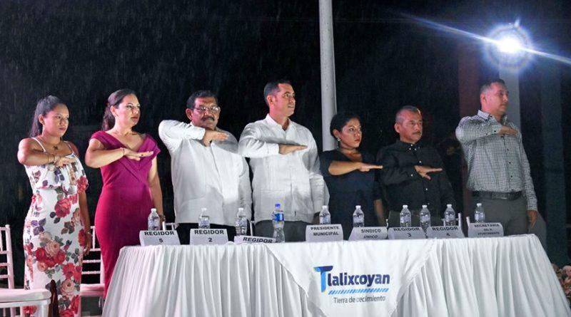 Primer informe de gobierno municipal, lleno de resultados positivos con Agustín Lagunes Alvarez