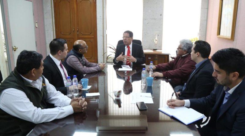 Recibe el Diputado Pozos Castro a alcalde de Emiliano Zapata