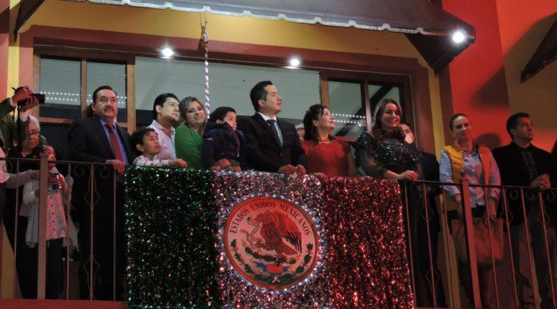¡Viva Tlalnelhuayocan! Externó David Ángeles a su Pueblo este 15 de septiembre