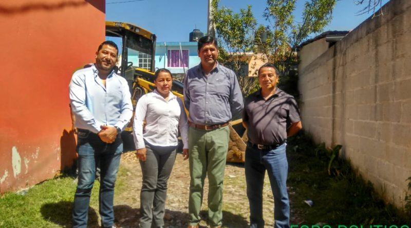 Drenaje Sanitario, un impulso para el desarrollo de los vecinos de la Colonia Aburtos en Rafael Lucio