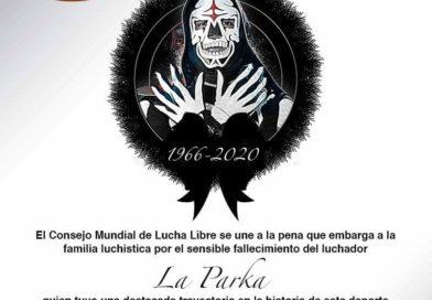 Fallece La Parka, Luchador profesional