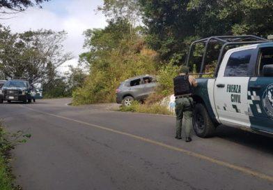 Fuerza Civil abate a tres presuntos delincuentes luego de ataque a destacamento, en Huatusco