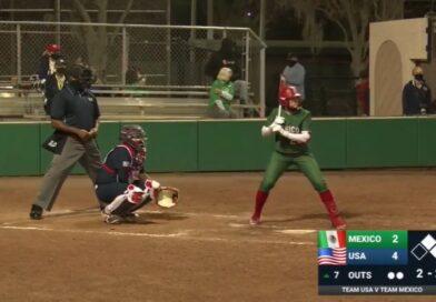 Rumbo a 'Tokio 2020', selección de softbol femenil concluye serie contra Estados Unidos.