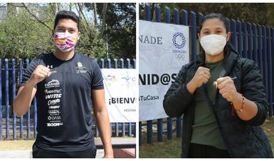 CNAR recibe a Briseida Acosta y Carlos Sansores para seguir proceso a 'Tokio 2020'