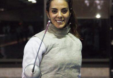 Vuelve esgrimista Nataly Michel a un escenario internacional con Grand Prix en Catar.