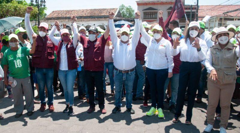 Vamos a trabajar por las familias de Los Tuxtlas: Gómez Cazarín.