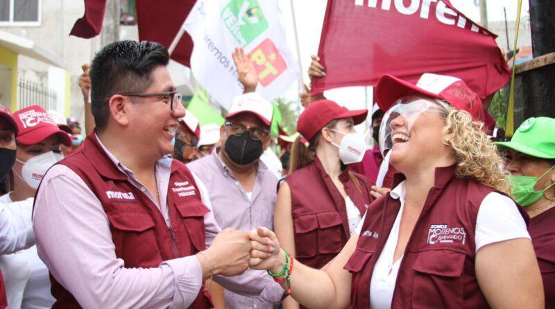 La transformación llegará a Alvarado con la maestra Lizzette Álvarez: Esteban Ramírez.