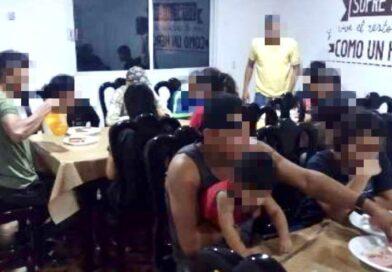 Captura SSP a 3 por tráfico de personas en Las Choapas