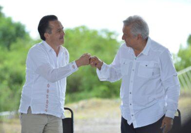 """Veracruz, este 2021 """"no vaciló en darle portazo al conservadurismo"""": Cuitláhuac García."""